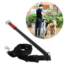 Dog Bicycle Leash Hands Free Lead Keeper Pet Walker Run Train Ride Bike Distance