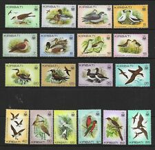 KIRIBATI 1982 BIRDS set of 18 comp. MINT NH