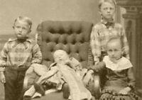 Antique Post Mortem Baby Photo 580 Bizarre Odd Strange