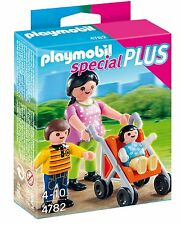 Playmobil 4782 Mother Children Madre hijos pushchair pram NEW BOXED Worldwide