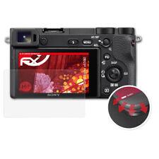 atFoliX 3x Anti Shock Screen Protector voor Sony Alpha a6500 mat&flexibel