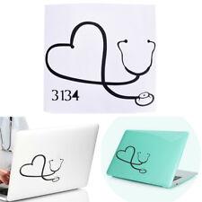 Autoaufkleber auf dem Herzen einer Krankenschwester Doctor Stethoscope Love X