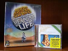 MONTY PYTHON Meaning Of Life Matching Tie and Handkerchief CD-Rom Game/CD *NEW*