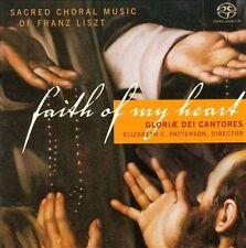 Liszt: Faith of My Heart, Gloriae Dei Cantores, New Import, Hybrid SACD - DSD