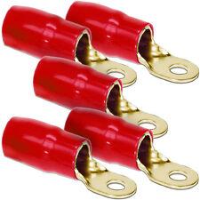 5 Stück Kabelschuhe - DIETZ 27650 Kabelschuh Ringöse rot 50mm² / d= 8,5mm