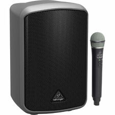 NEW Behringer MPA100BT Portable Bluetooth PA 100W Speaker System w/ULM300USB Mic