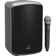 NEW Behringer MPA100BT Portable Bluetooth PA 100W Speaker System w/ULM300USB Mic