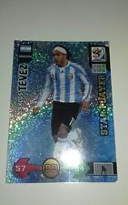 Panini Adrenalyn XL WORLD CUP 2010 STAR PLAYER Carlos Tevez