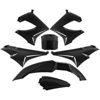 KIT 7 PEZZI CARENE NERO DERBI 50 Senda R X Race E2 2006-2012