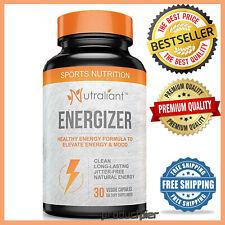 #1 Best Energy Pills with Caffeine, Ginseng, Taurine, B Vitamins + All Day, No C