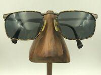 Vintage Viennaline 1720 42 Titanium Tortoise Bronze Oval Sunglasses FRAMES ONLY