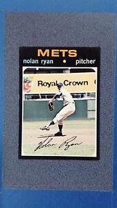 1971 Topps #513 NOLAN RYAN New York Mets EXMT ~JY11