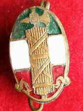 EARLY TYPE 1° PARTY ENAMELLED P.N.F. 1919/23 BADGE PARTITO NAZIONALE FASCISTA #6