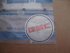 OEM GMC Rally wheel emblem cover insert 14035568 S15 Safari Sonoma Syclone