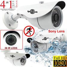 CCTV Bala Cámara 1080p Full HD 2.4MP Sony Lens dispositivo antimanipulación CVBS Analógico IR Visión Nocturna
