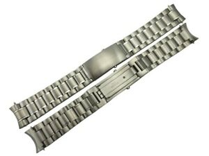 20mm Stainless Steel Replacement Strap Watch Bracelet Fits Omega Speedmaster UK
