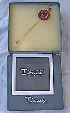 hilton Mac Connico   - DAUM - broche ou epingle de foulard Pâte de Verre DAUM