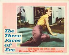 THREE FACES OF EVE JOANNE WOODWARD ORIGINAL LOBBY CARD