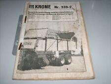 Betriebsanleitung Krone Schneid-Dosierwagen ,Stand 1983