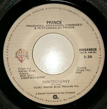 "PRINCE: CONTROVERSY/ WHEN YOU WERE MINE (1981 US 7"" PRESSING)"