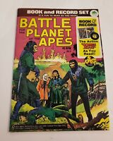 Battle for the Planet of the Apes 1974 Power comic book no record! VG