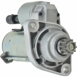 Starter For Audi A3 2006-2013 2.0L/121CI 12V 10T CCW PMGR 1.1KW; 410-40032