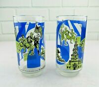 Vintage Coca-Cola 1776 Bicentennial Heritage Collector Series Glasses Set Of 2