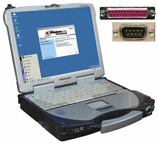 Outdoor Notebook Panasonic Cf-28 For Windows 98 Win 2000 Rs-232 Serial Lpt Lan