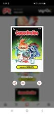 Topps - WAX -Garbage Pail Kids - Brainy Brian r11b Prism Digital Card