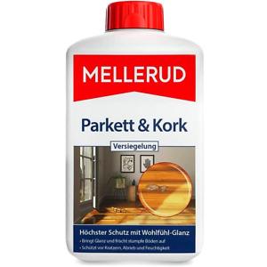 MELLERUD 1 L Parkett & Kork Versiegelung Pflegemittel