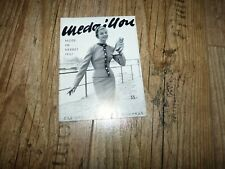 Medaillon Modehaus Katalog Mode im Herbst von 1957