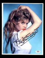 Brigitte Bardot PSA DNA Coa Signed 8x10 Photo Certified Autograph