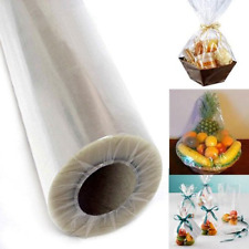 """Adorox 30"""" Inch 100' Ft Clear Cellophane Wrap Roll Gift Basket Arts and Crafts"""