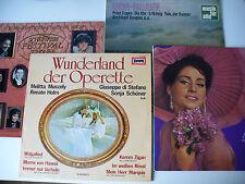 """Schallplattenkonvolut: """"Kleine Opern und Klassik Sammlung"""" 4 Alben LP Vinyl (30)"""