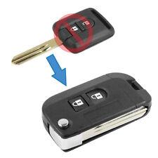 Guscio Chiave Cover Modifica Scatto Telecomando 2 Tasti Auto Nissan Qashqai +2