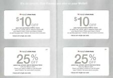 Macys Coupons 2x $10 Off & 2x 25% Off - Expires 11/30/2020