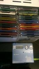 sony mz n910 mini disc walkman plus 28 discs