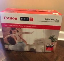 Canon Pixma MG2522 Inkjet All-in-one Print Scan Copy Home Printer Brand New