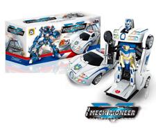 Transformer Auto Spielzeug Roboter Fahrzeug Polizei Robot Actionfigur Kinder
