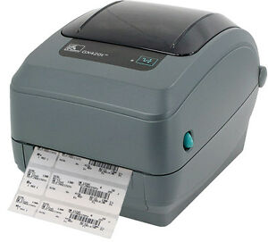 USED Zebra GX420T Courier Label Shipping Address Thermal USB Printer 881ND