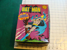 Vintage 1984 mpc BATMAN box only Super Powers, cool as shown.