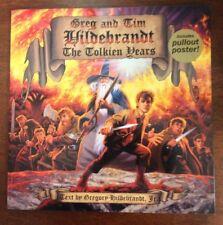 THE TOLKIEN YEARS Greg Tim Hildebrandt Brothers Fantasy Art TPB PB Book & Poster