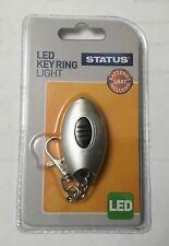 STATUS NEW Powerful LED Keyring Light Mini LED Torch Keychain
