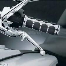 """Chrome 1"""" Handlebar Hand Grips For Yamaha V-Star XVS 650 1100 Custom Silverado"""