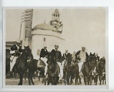 1928 ORIGINAL KING OF ALBANIA BODYGUARD PROCLOMATION ZOG I VINTAGE
