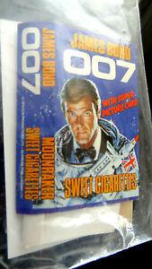 JAMES BOND 007 MOONRAKER ALMA 1979 SWEET CIGARETTES WITH INSERT COLLECTER ITEM