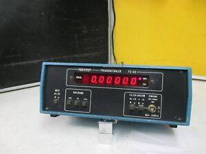 GRUNDIG FZ-60, Frequenzzähler  -> extrem zuverlässig + professionell
