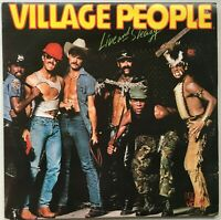 VILLAGE PEOPLE Live and Sleazy 1979 OZ g/fold RCA Victor EX/EX