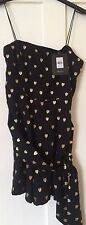 Kate Moss Topshop Heart Playsuit Size 6