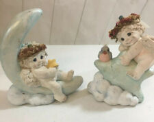 Dreamsicles Swing On A Star Dc208 1994 Lot If Two Moon Cherub Figurine